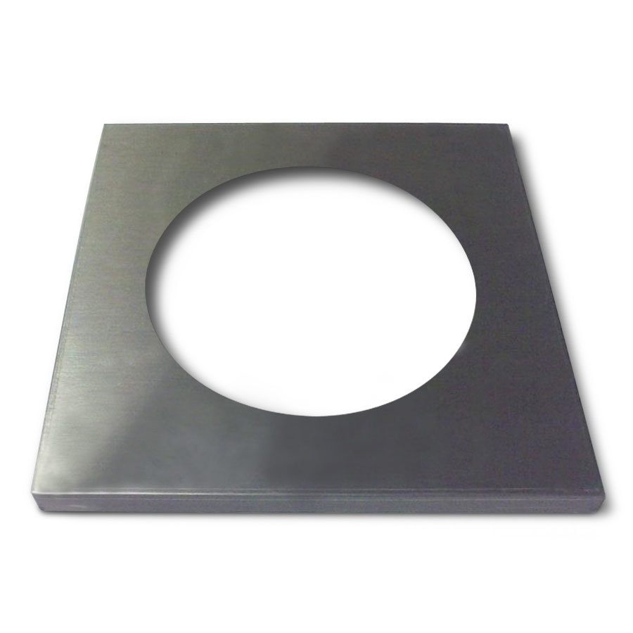 "APW Wyott 55707 Adapter Plate with 8 1/2"" Opening"