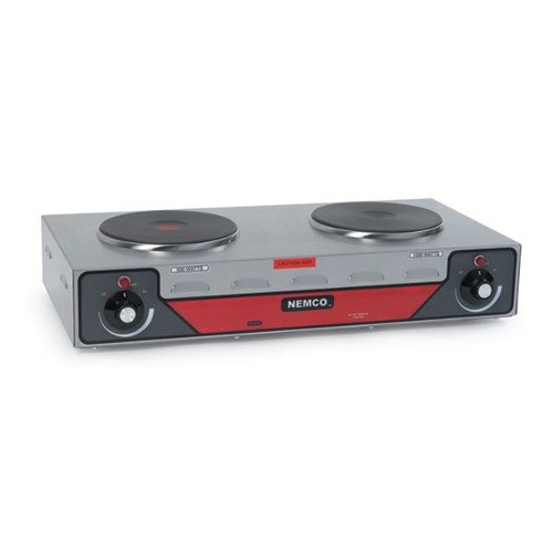 Nemco 240 Volts Nemco 6310-2 Electric Countertop Horizontal Hot Plate with 2 Solid Burners at Sears.com