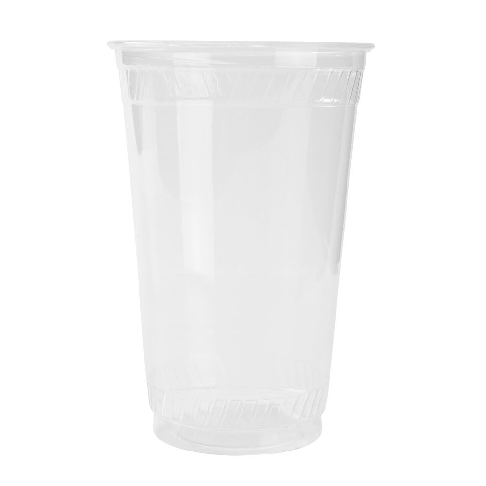 Fabri-Kal Greenware GC10 10 oz. Customizable Clear Plastic Compostable Cold Cup 1000 / Case