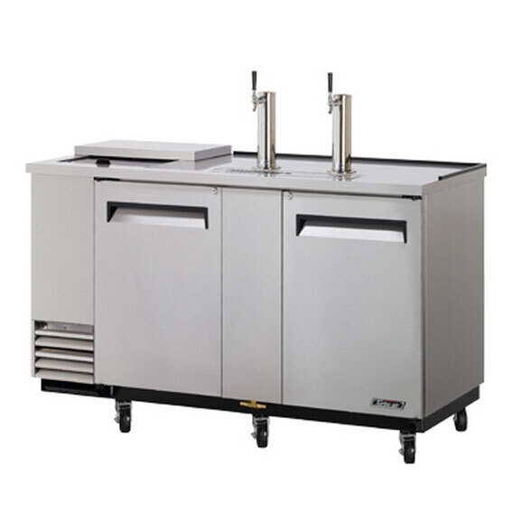 "Turbo Air Refrigeration Turbo Air TCB-3SD 69"" Super Deluxe Stainless Steel Club Top Beer Dispenser - 3 Kegs at Sears.com"