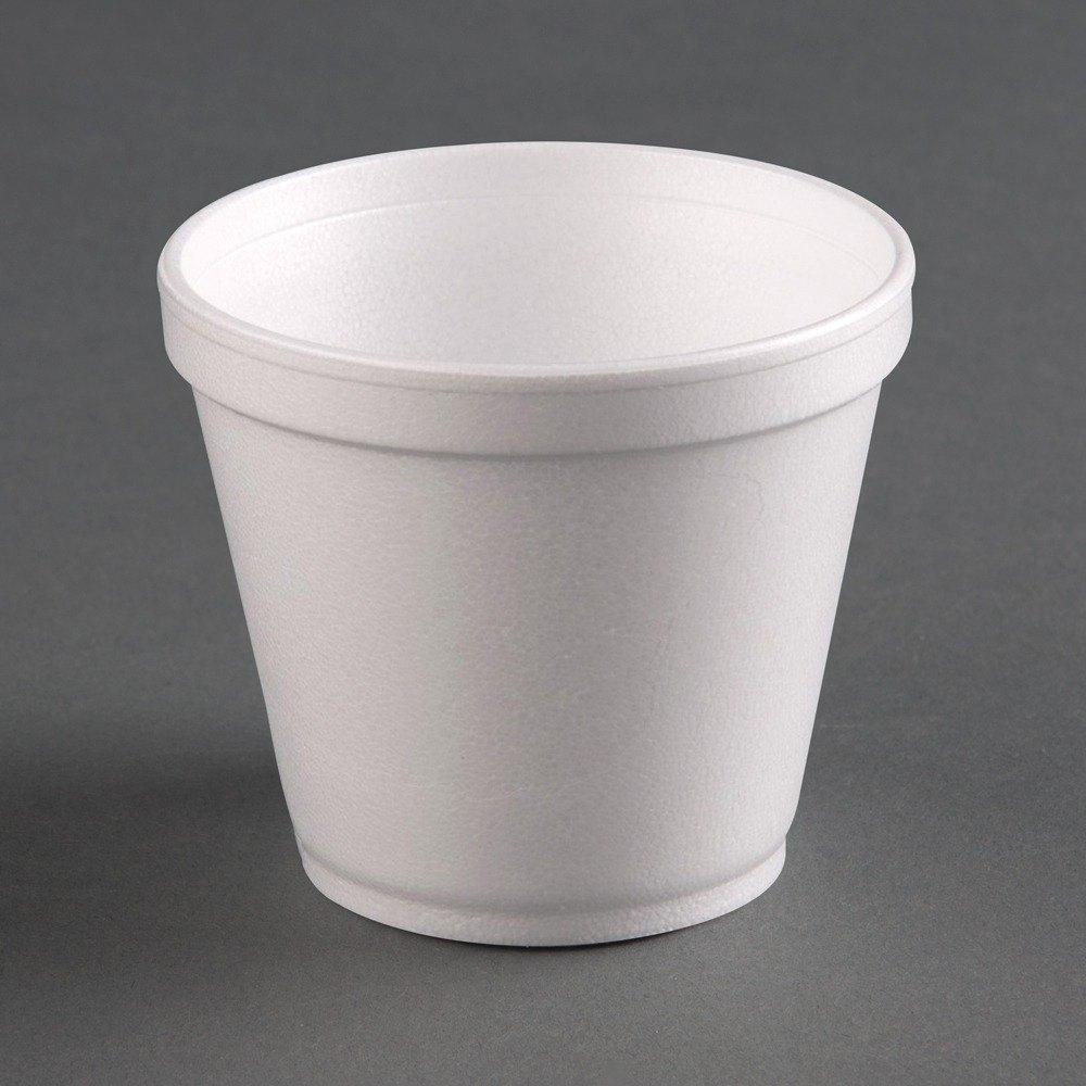 Dart 6SJ12 6 oz. White Foam Food Bowl 50 / Pack