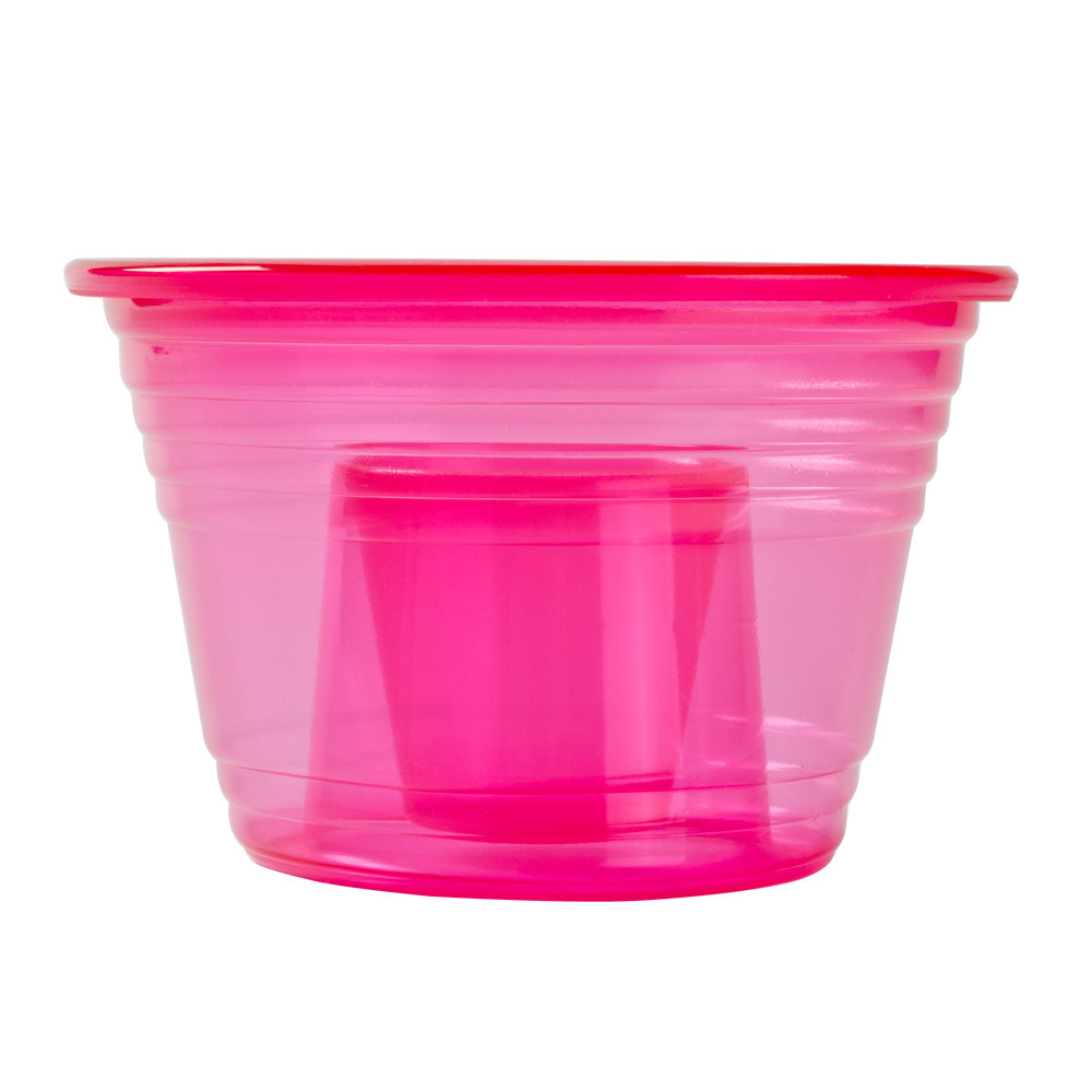 Fineline Quenchers 4112RD Blaster Bomb Shot Cups / Power Bombs Neon Red - Similar to Disposabomb™ 25 / Pack