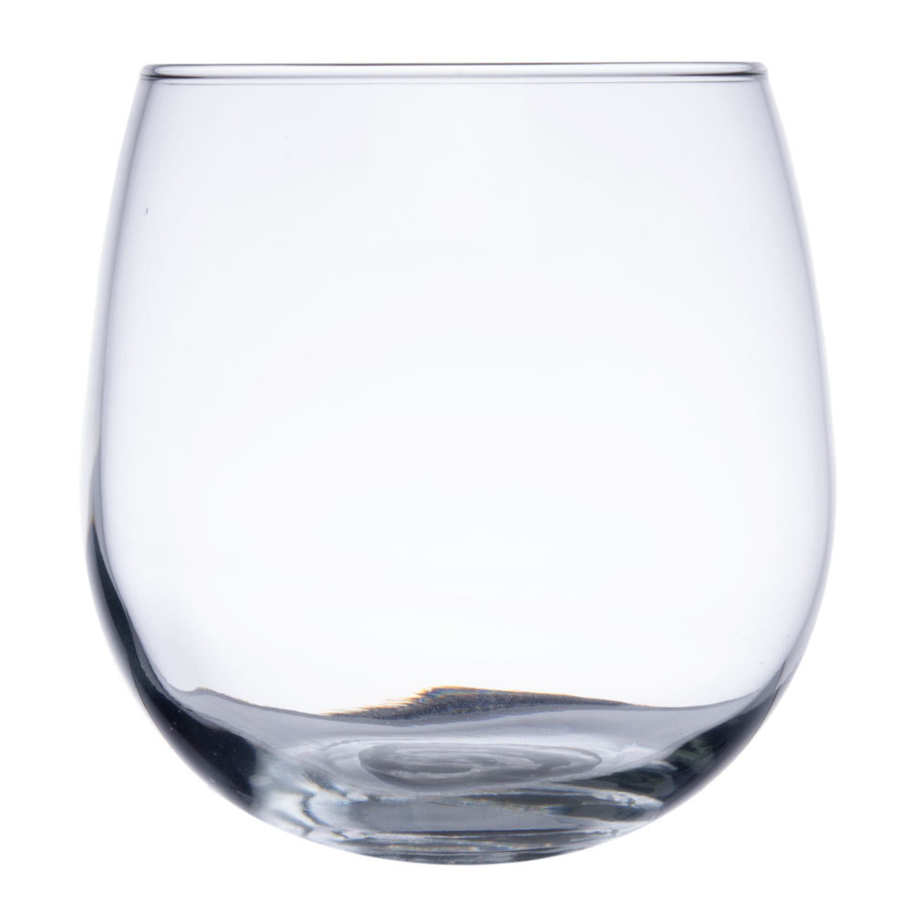Libbey 222 oz stemless red wine glass 12 case - Stemless wine goblets ...