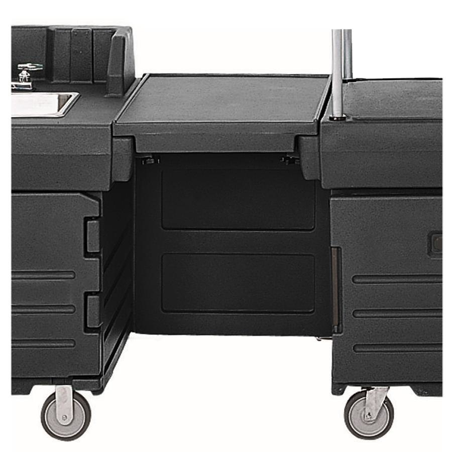 Cambro KMC24110 Black CamKiosk Connector Unit with Front Panel at Sears.com