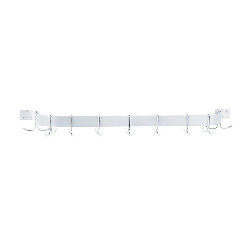 Advance Tabco GW1-60 Wall Mounted Single Bar Pot Rack - 65""