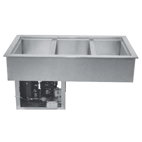 "Wells RCP-243 31"" Two Pan Drop In Refrigerated Cold Food Well with 4/3 Capacity"