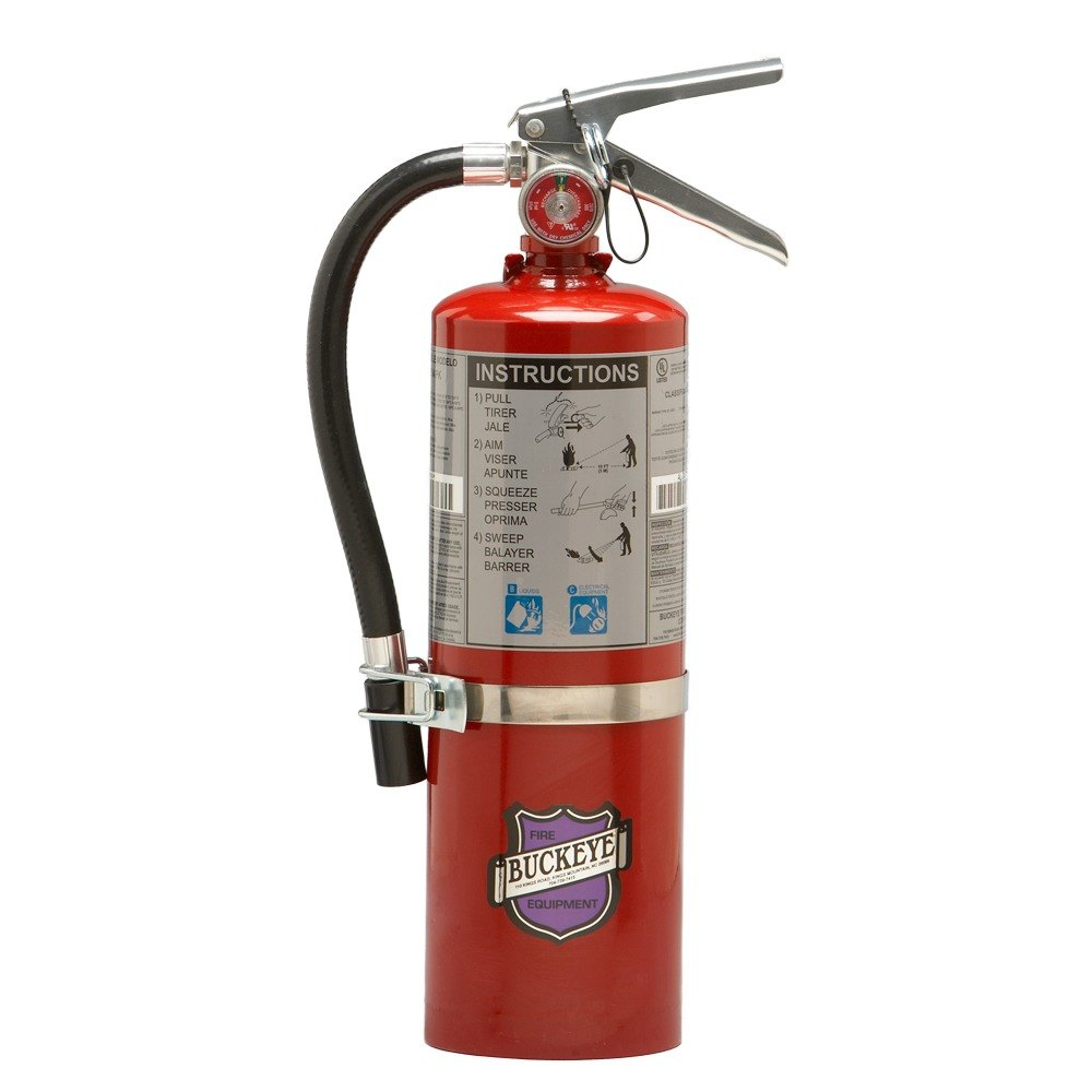 superior Commercial Kitchen Fire Extinguisher #5: Purple K Dry Chemical BC Vehicle Fire Extinguisher - Rechargeable Untagged -