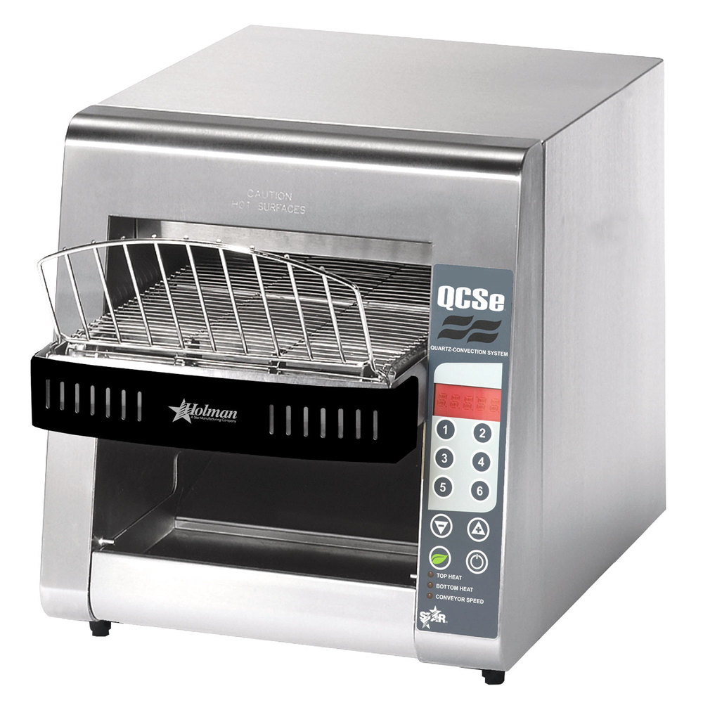 "Star QCSe2-500 Conveyor Toaster with 1 1/2"" Opening and Electronic Controls"