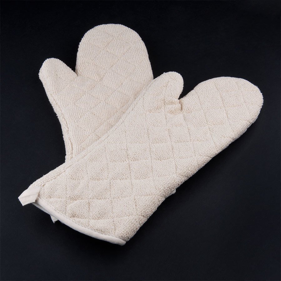Choice 17 inch Terry Oven Mitts - Pair