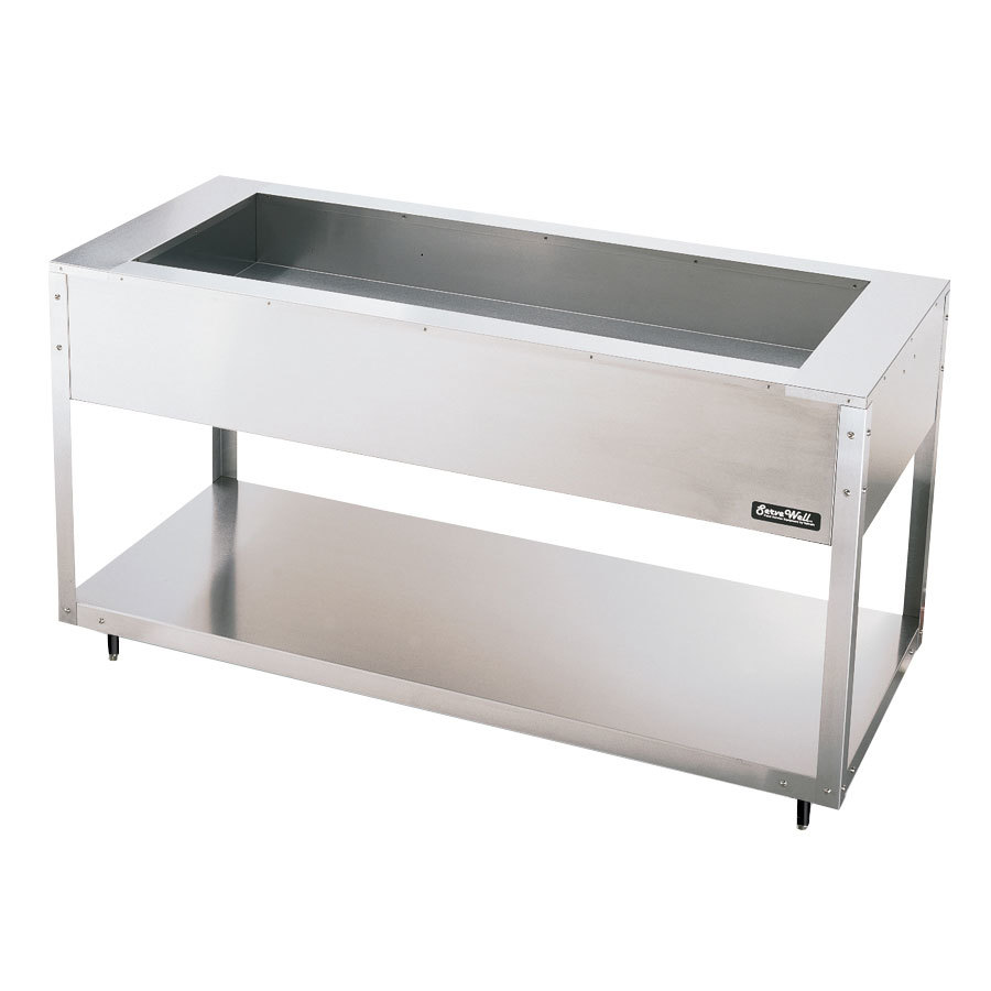 Vollrath 38013 ServeWell 3 Pan Cold Food Table