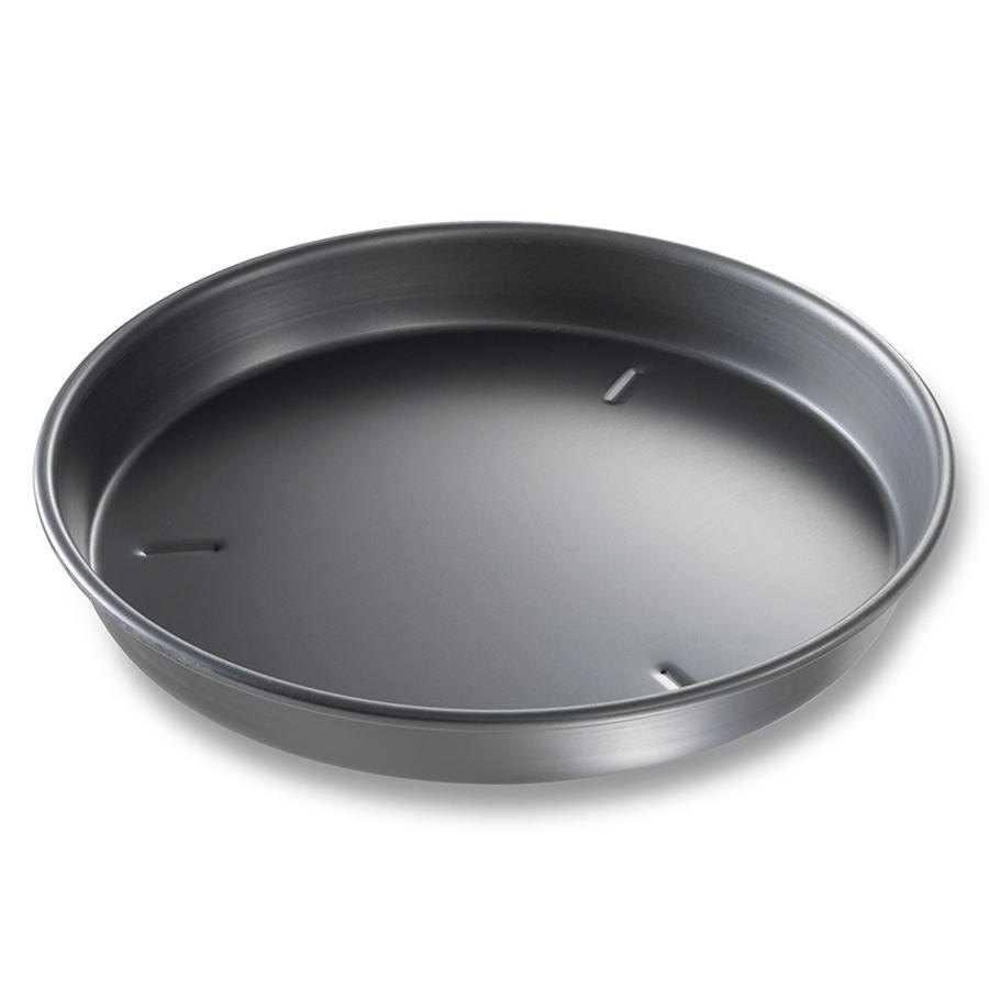 "Chicago Metallic 91130 13"" x 1 1/2"" Deep Dish Hard Coat Anodized Aluminum Pizza Pan at Sears.com"