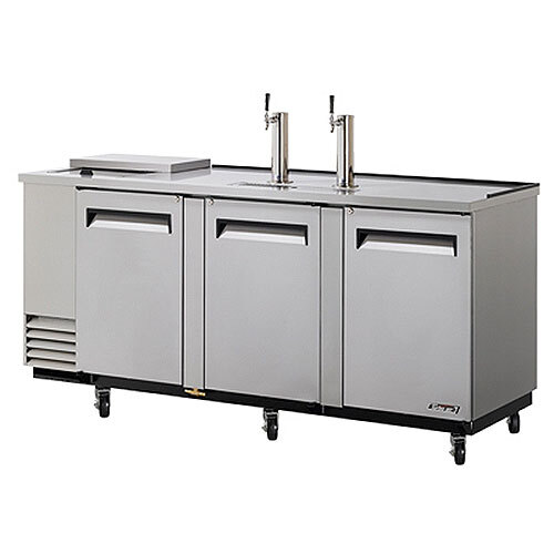 "Turbo Air Refrigeration Turbo Air TCB-4SD 90"" Super Deluxe Stainless Steel Club Top Beer Dispenser - 4 Kegs at Sears.com"