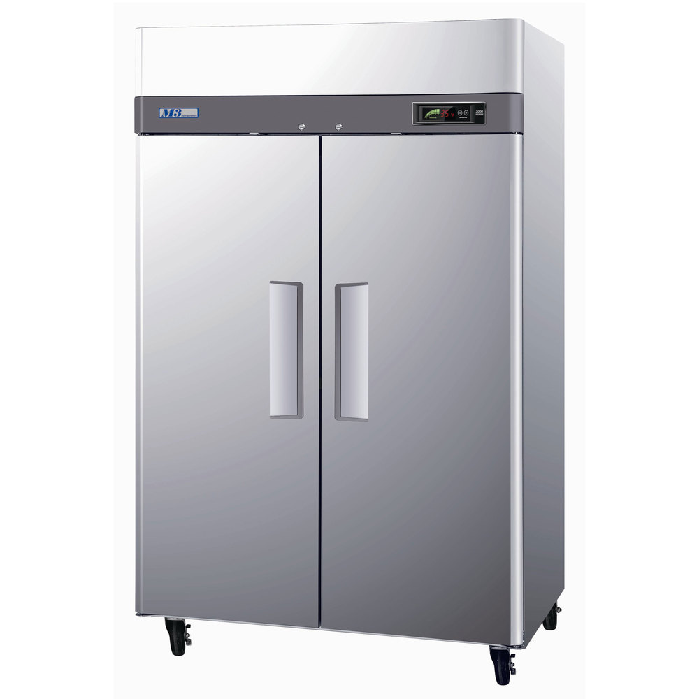 Turbo Air M3F47-2 52 inch M3 Series Two Door Reach In Freezer - 47 Cu. Ft.