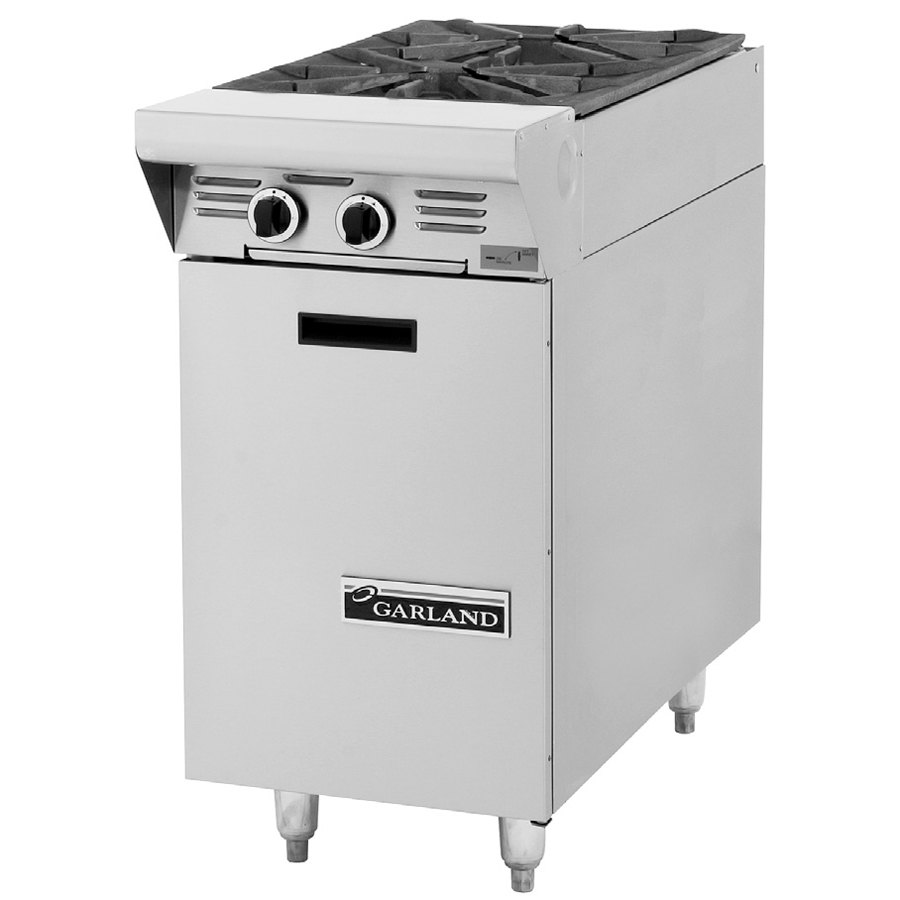 "Garland / US Range Natural Gas Garland M4S Master Series 2 Burner 17"" Gas Range Attachment with Storage Base at Sears.com"