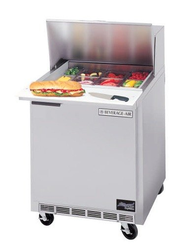 Beverage Air SPE27-B 27 inch Refrigerated Salad / Sandwich Prep Table