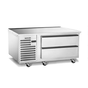 "Traulsen TE060HT 2 Drawer 60"" Refrigerated Chef Base - Specification Line"
