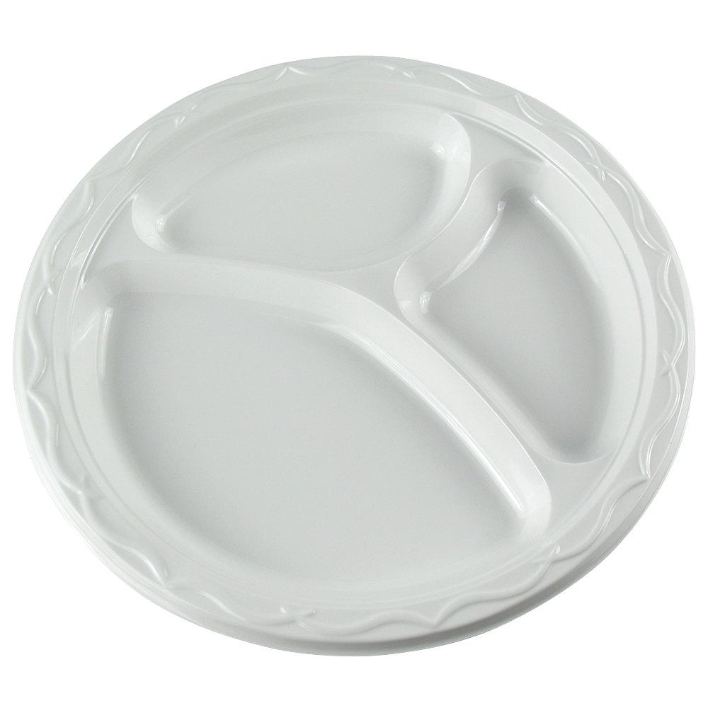 BestYet Compartment Plastic Plate [309835]