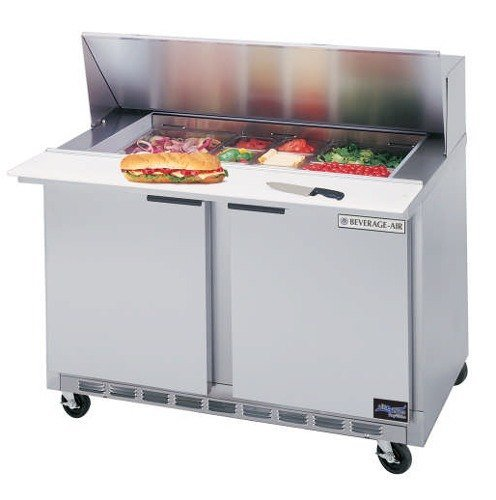 Beverage Air (Bev Air) SPE48-12 Refrigerated Salad / Sandwich Prep Table - 48 inch