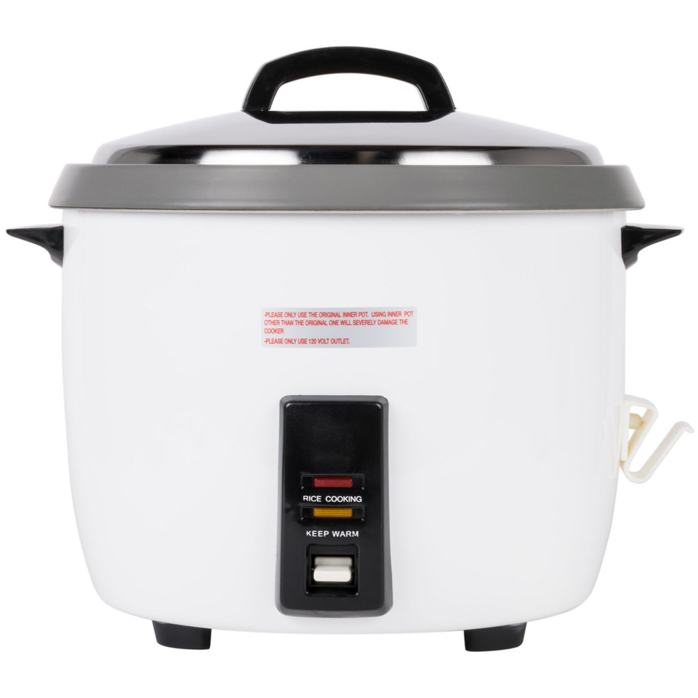 60 Cup (30 Cup Raw) Nonstickmercial Rice Cooker And Warmer