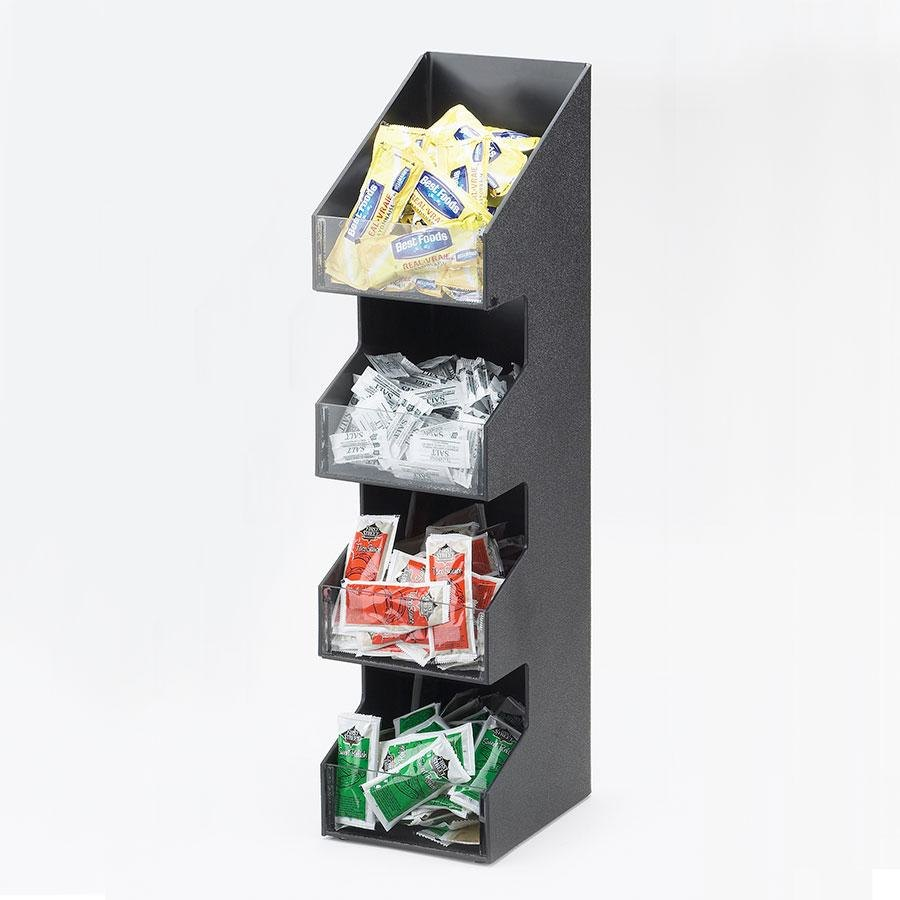 "Cal Mil 1423 Classic Coffee Condiment Display - 5 1/4"" x 6 3/4"" x 21"" at Sears.com"