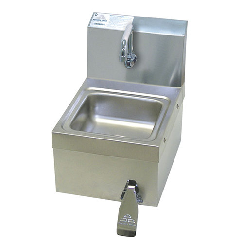 Sink Valve : ... PS-63 Space Saver Hands Free Hand Sink with Knee Valve - 12 1/4