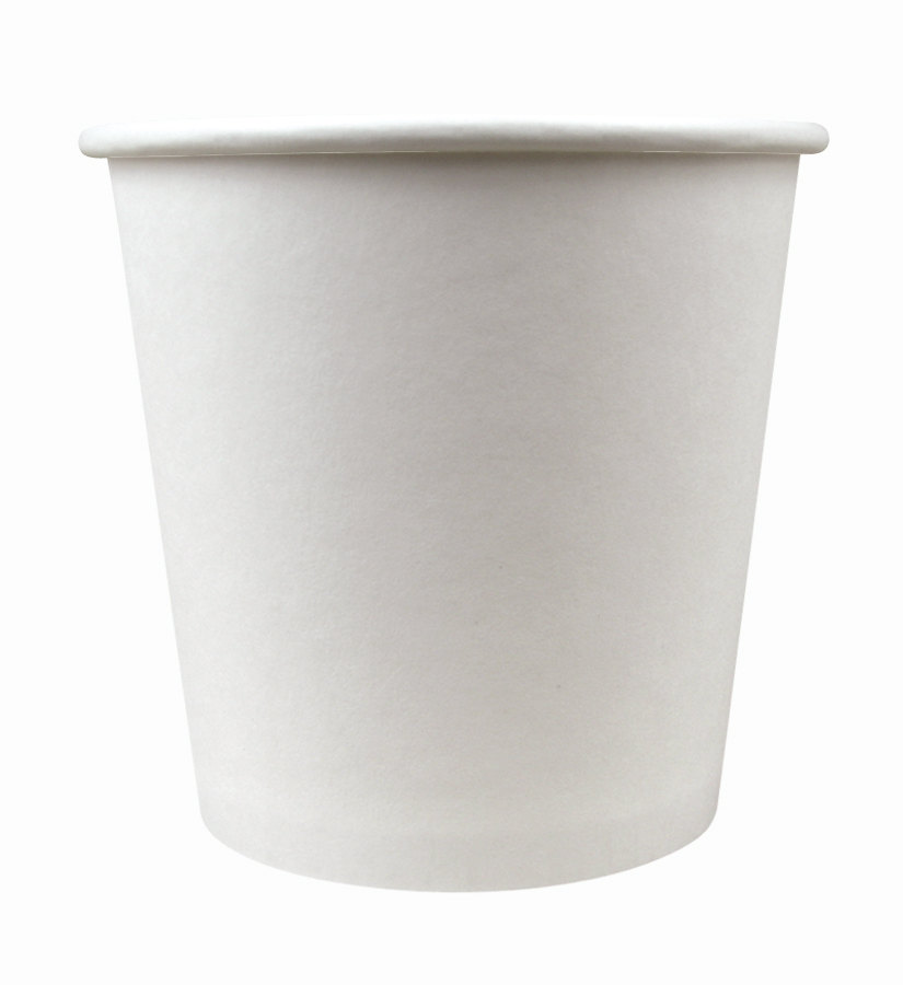 Choice 4 oz. Paper Hot Cup White 1000 / Case