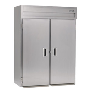 Delfield Stainless Steel SSHRI2-S 74.72 Cu. Ft. Two Section Solid Door Roll In Heated Holding Cabinet - Specification Line