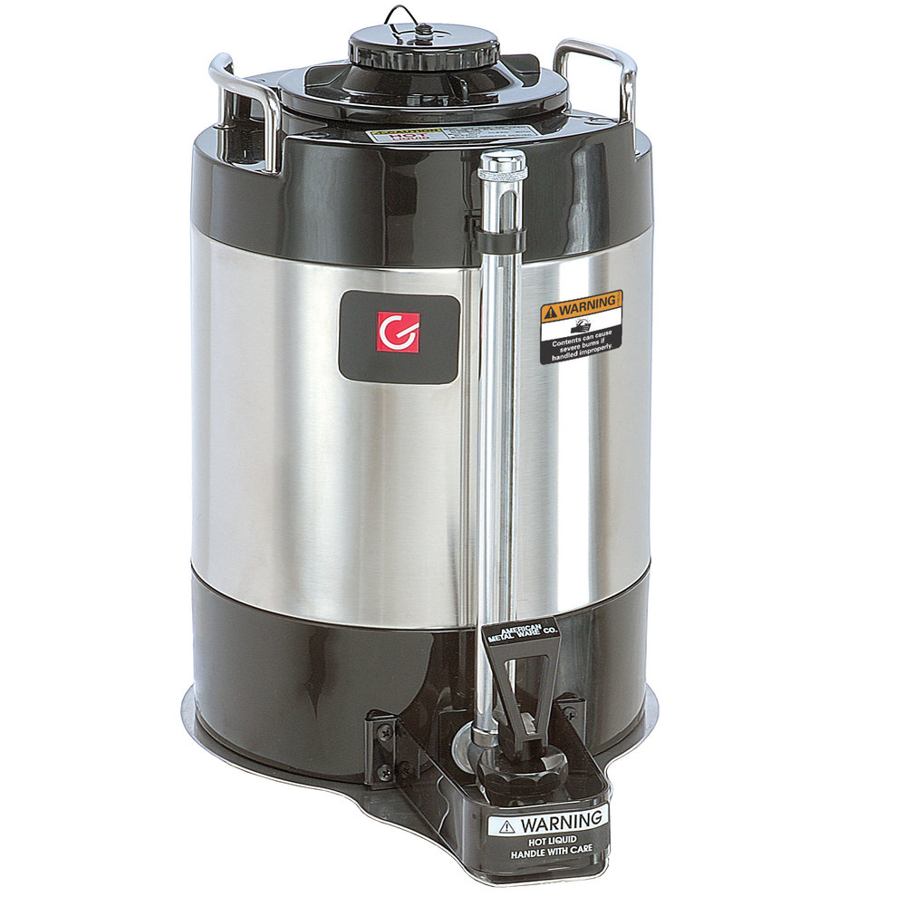 Grindmaster AVS-1.5A 1.5 Gallon Stainless Steel Vacuum Insulated Coffee Shuttle