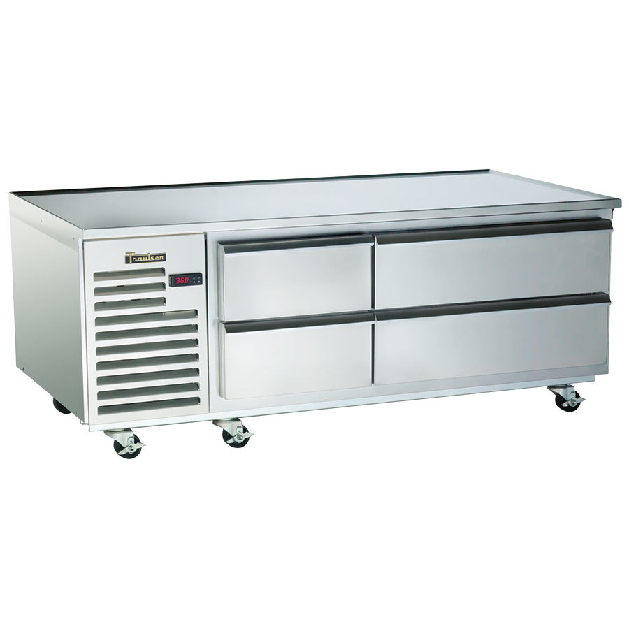 "Traulsen TE065HT 4 Drawer 65"" Refrigerated Chef Base - Specification Line"