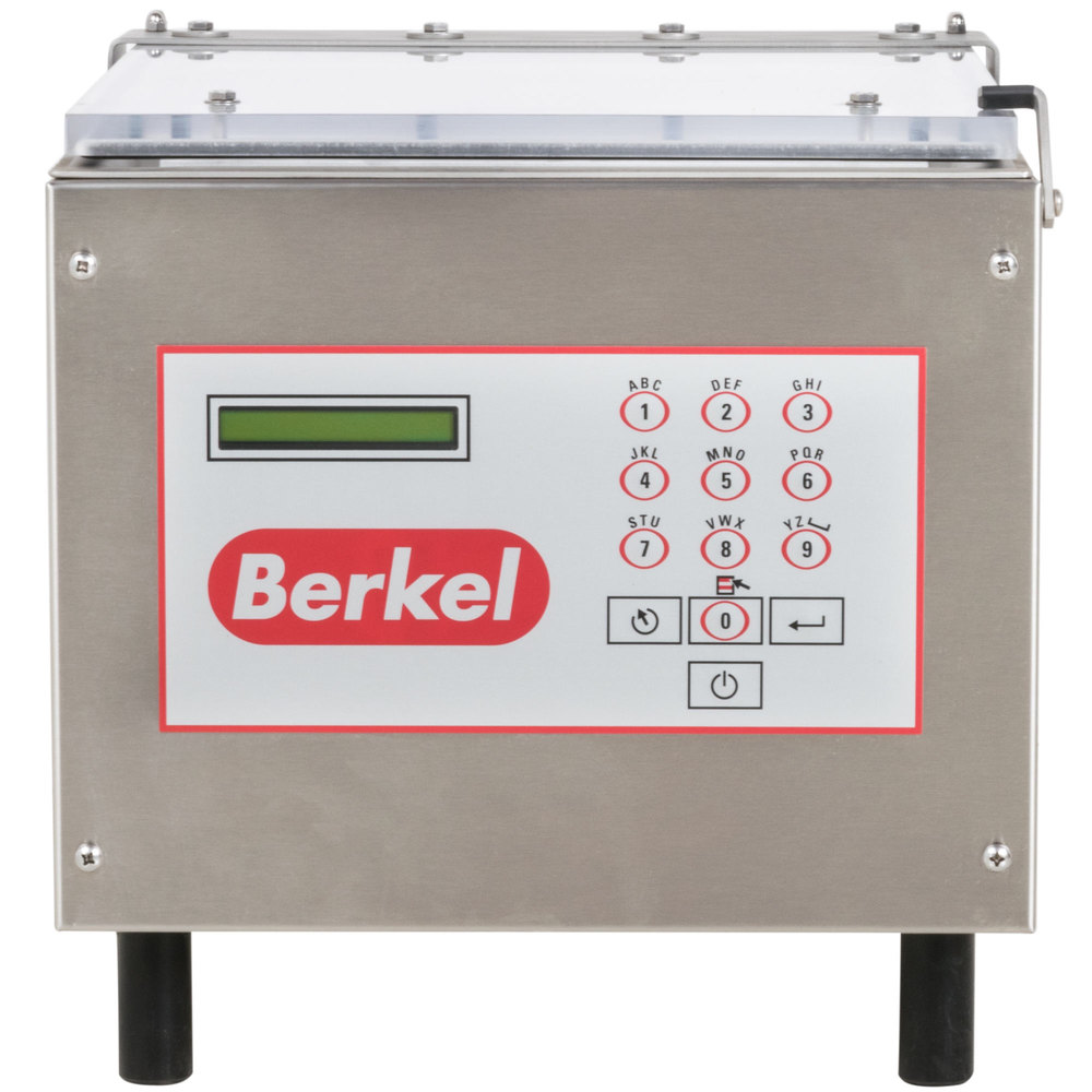 "Berkel 350 Chamber Vacuum Packaging Machine with 19"" Seal Bar"