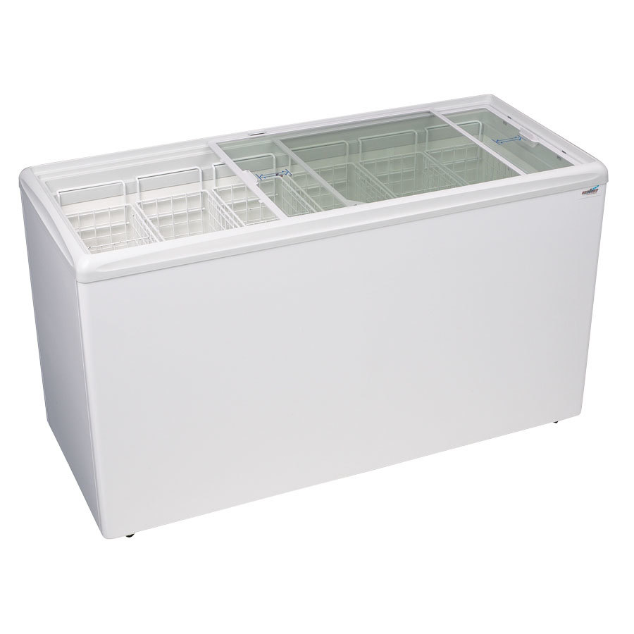 Excellence RIO-H-150 Ice Cream Flat Top Flat Lid Display Freezer - 15.6 Cu.ft