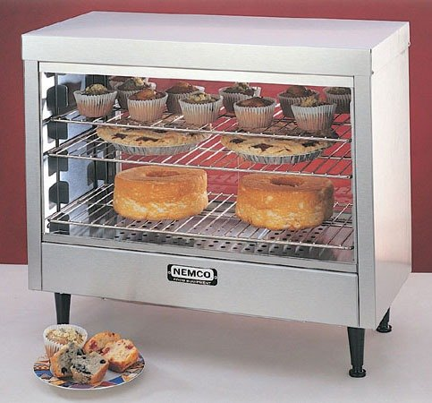 Nemco 6461 Heated Display Case - 28 inch