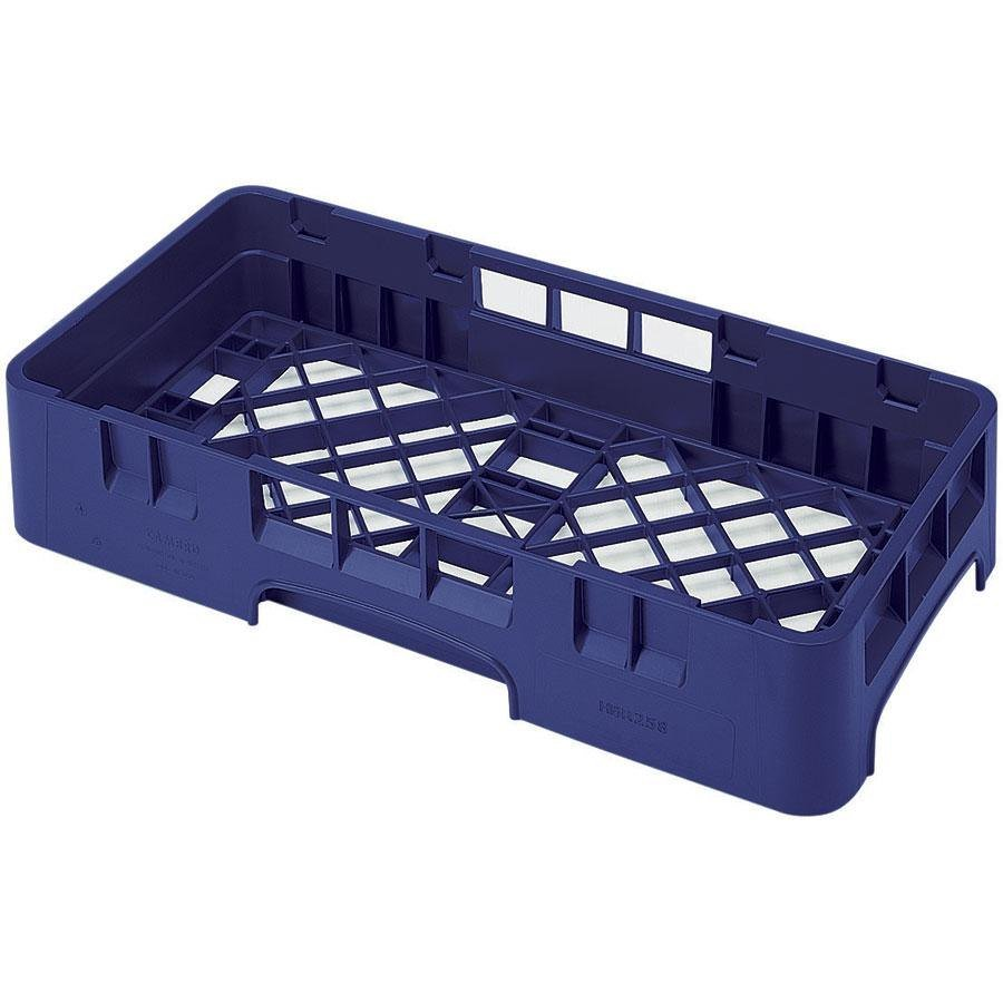 Cambro HBR258186 Navy Blue Camrack Half Size Open Base Rack