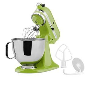 KitchenAid KSM150PSGA Green Apple Artisan Series 5 Qt. Stand Mixer