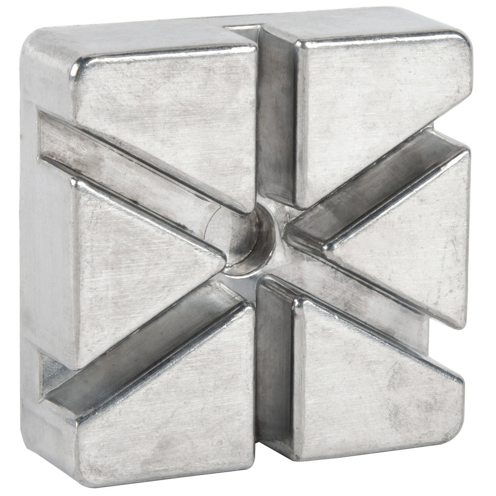 6 Wedge Push Block for French Fry Cutters