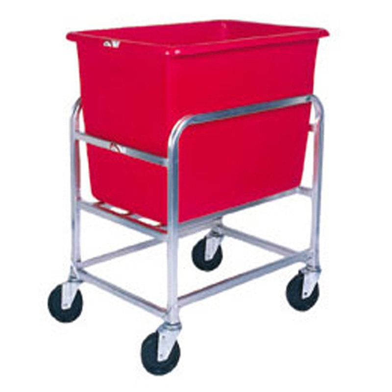 Winholt 30-6-A/RD Aluminum Bulk Mover with 6 Bushel Red Tub