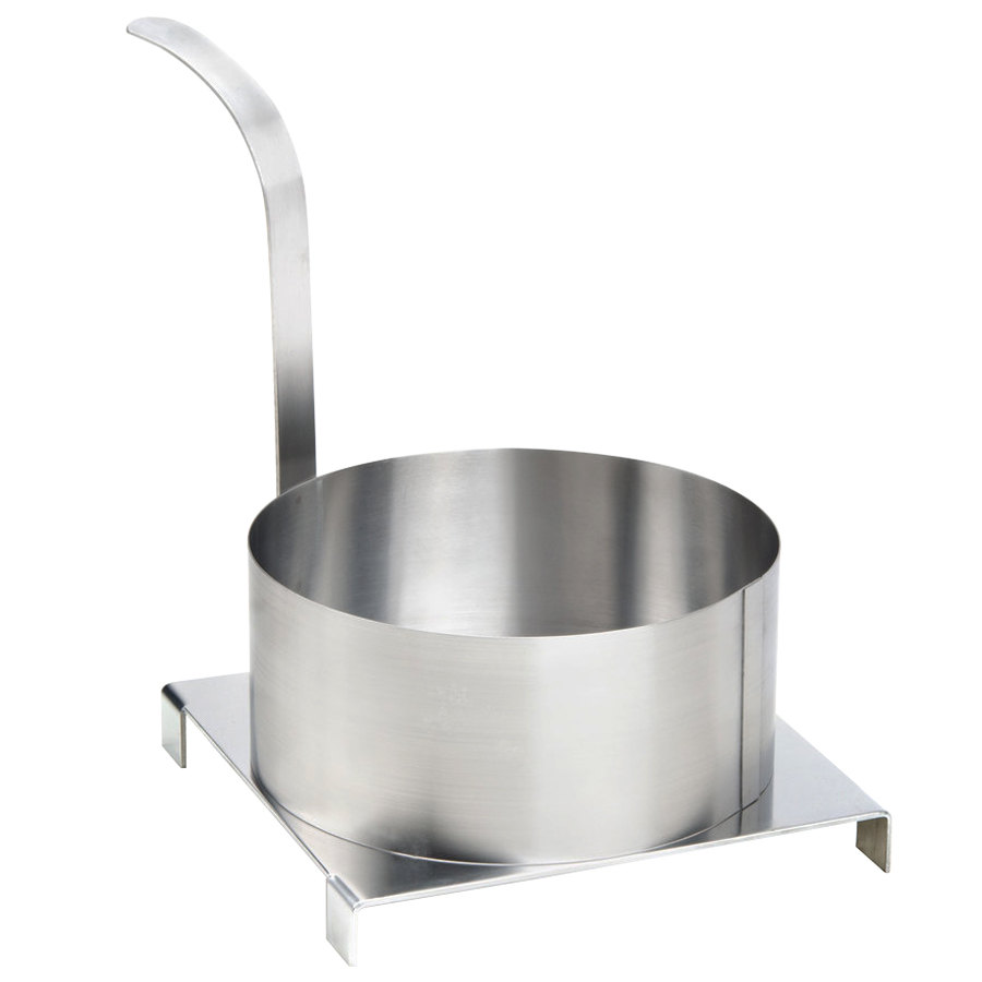 "Carnival King 8"" Stainless Steel Funnel Cake Mold Ring"
