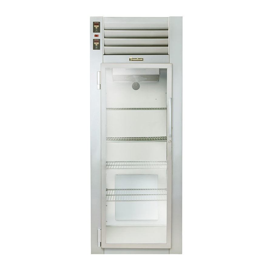 Traulsen AHF132W-FHG 24.8 Cu. Ft. Glass Door Single Section Reach In Heated Holding Cabinet - Specification Line
