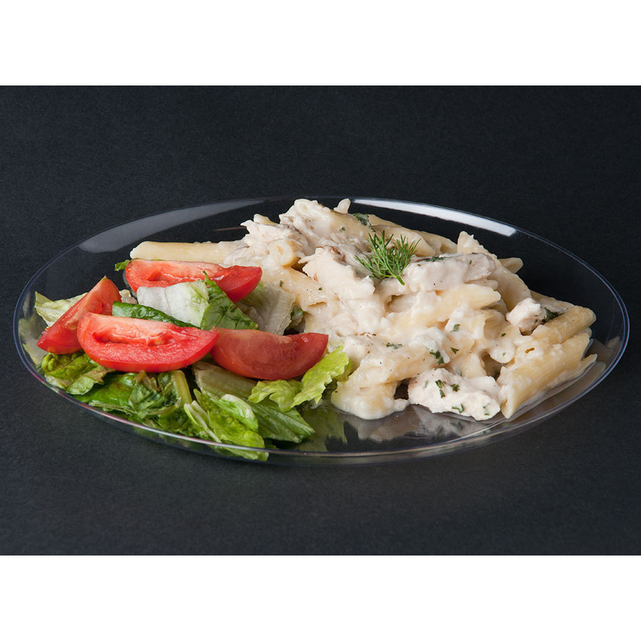 Savvi Serve Clear Plastic Plate Design