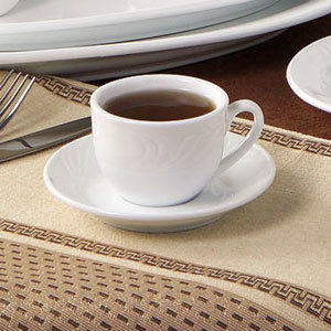 CAC RSV-54 Roosevelt 3.5oz. China Tea Cup 36 / Case