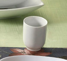 CAC SHA-17 Sushia 8 oz. China Tea / Sake Cup - 36 / Case