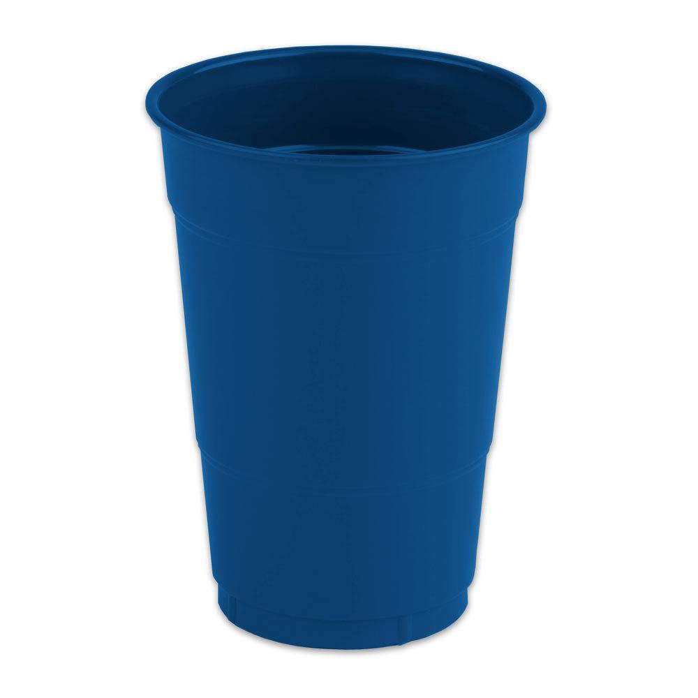 Creative Converting 28 1137 81 16 Oz Navy Blue Plastic