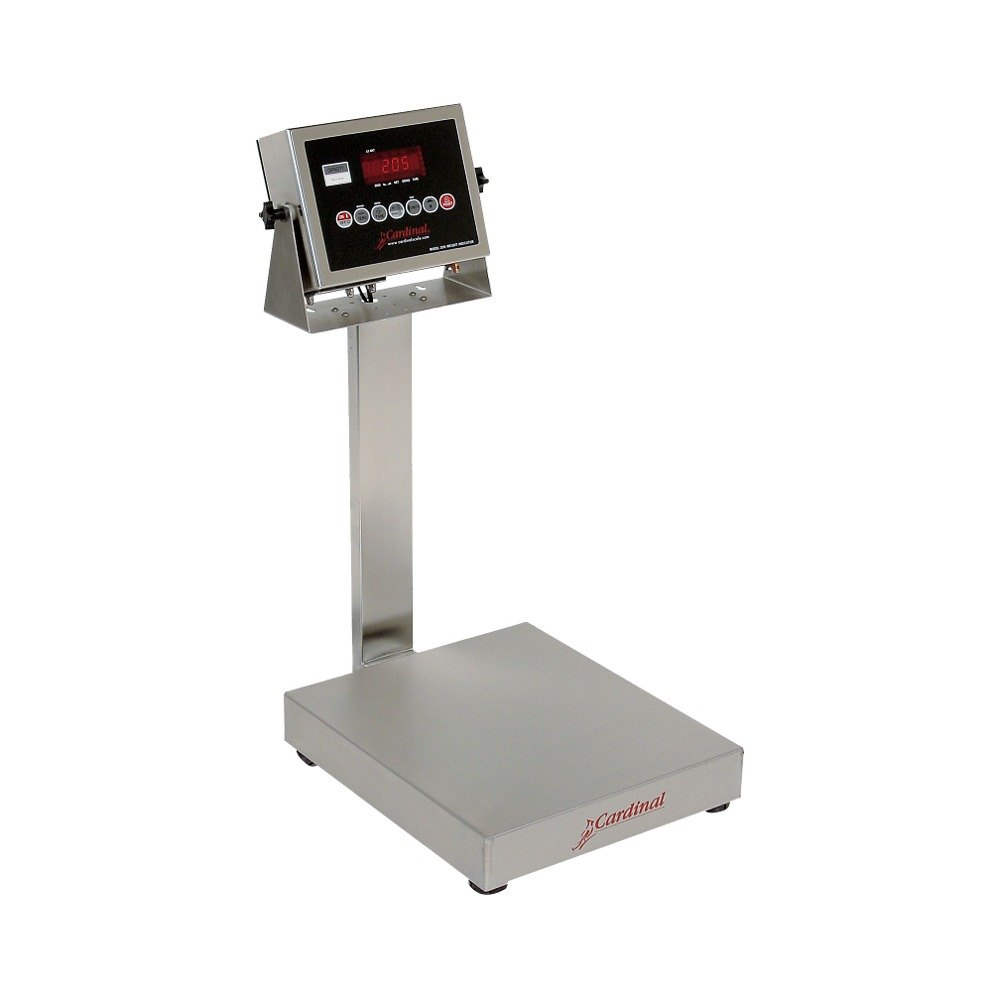 Cardinal Detecto EB-30-205 30 lb. Electronic Bench Scale with 205 Indicator, Legal for Trade