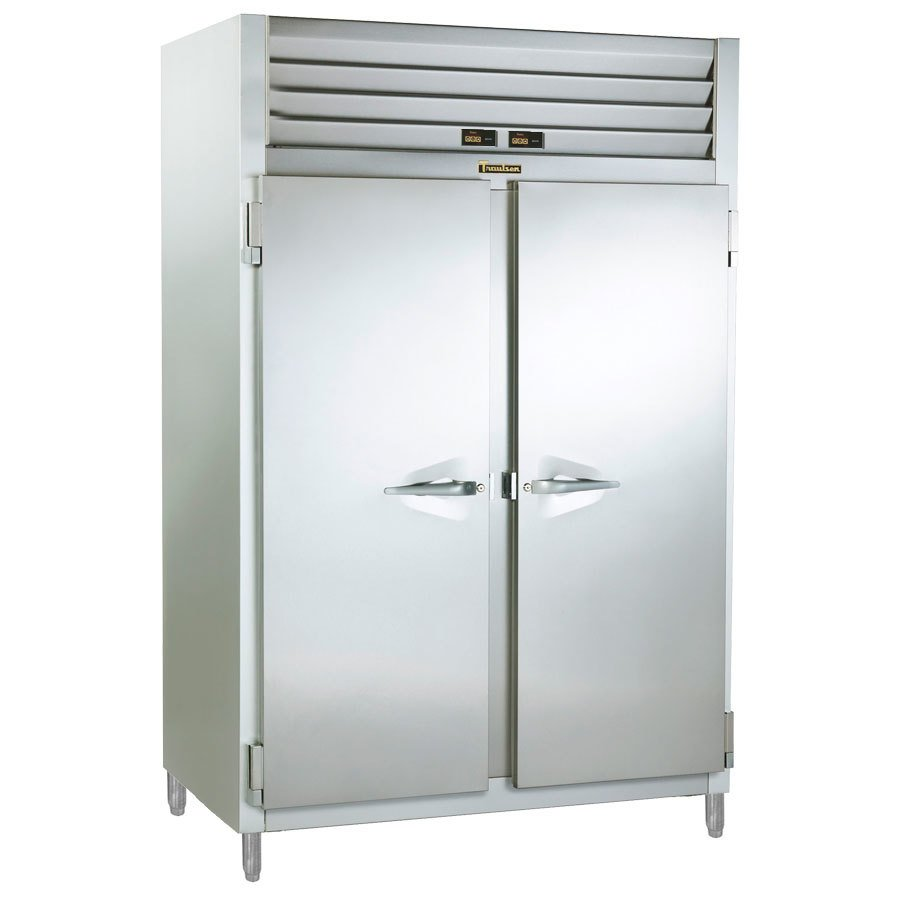Traulsen RDT232NUT-FHS Stainless Steel 38.5 Cu. Ft. Two Section Narrow Reach In Refrigerator / Freezer - Specification Line
