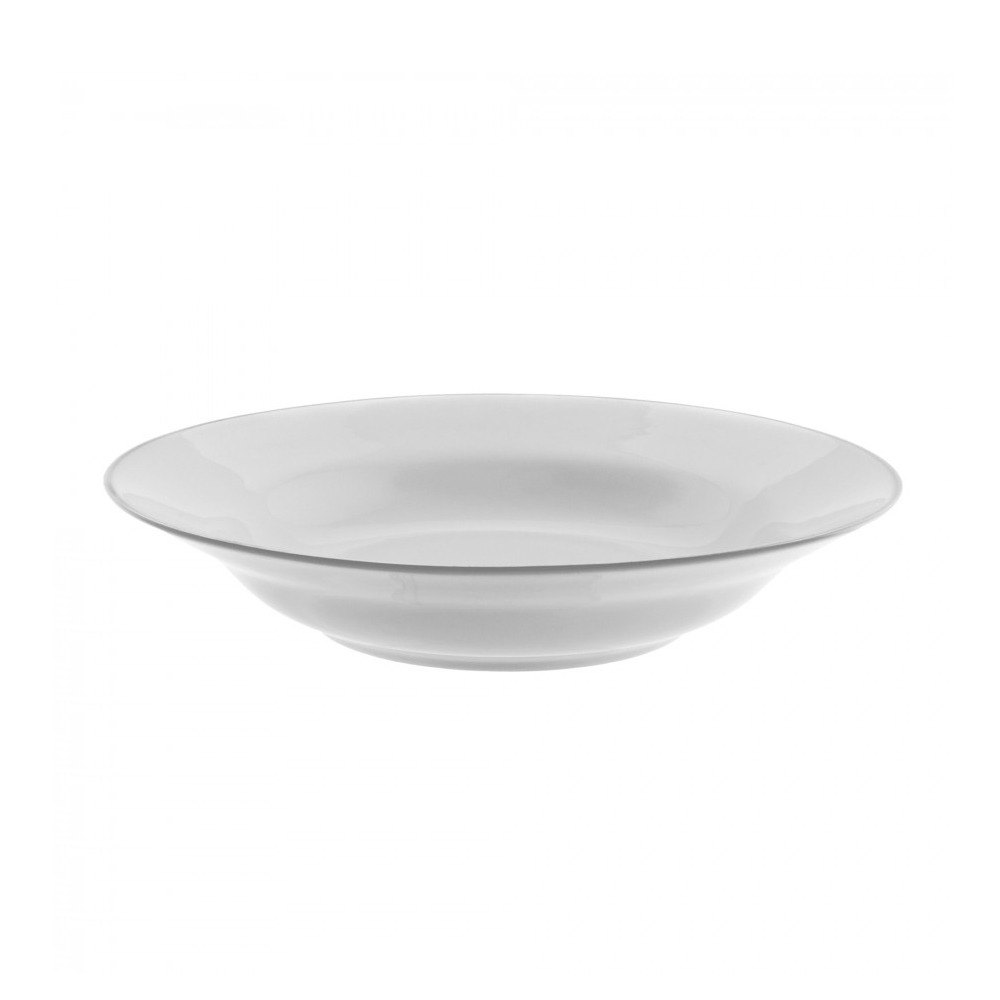 "10 Strawberry Street SL0003 9"" 10 oz. Silver Line Soup Bowl - 24 / Case"