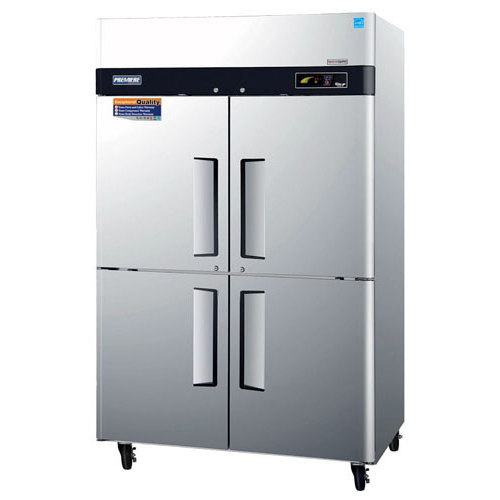 "Turbo Air Refrigeration Turbo Air PRO-50-4F 52"" Premiere Series Two Section Solid Half Door Reach in Freezer - 50 Cu. Ft. at Sears.com"