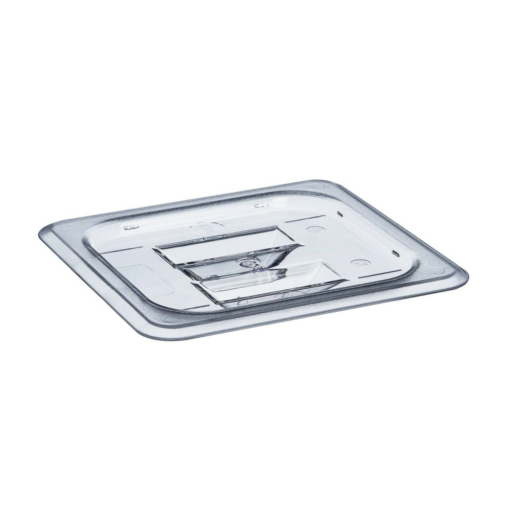 Clear Polycarbonate 1/6 Size Food Pan Lid with Handle