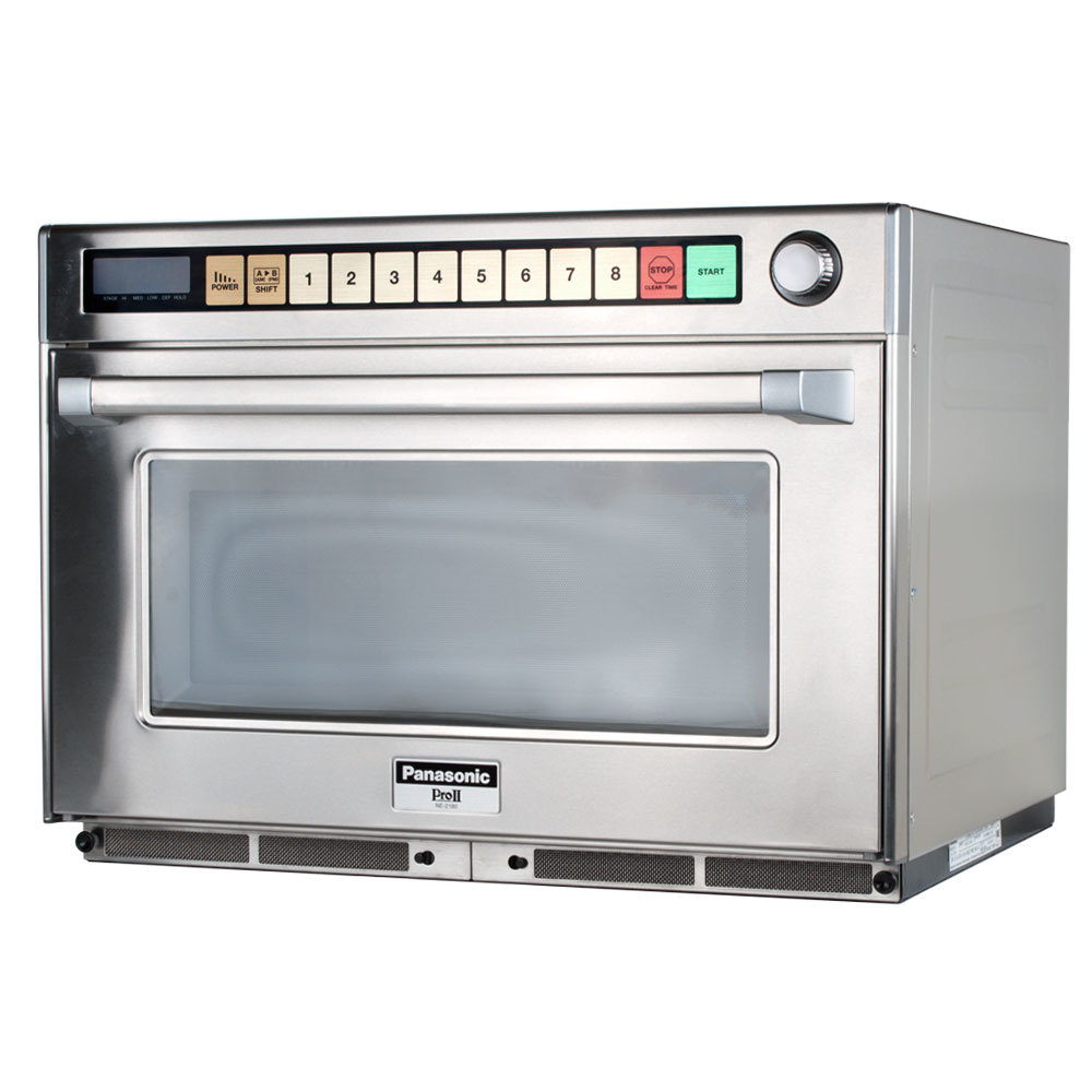 Panasonic Ne 2180 Sonic Steamer Commercial Microwave Oven