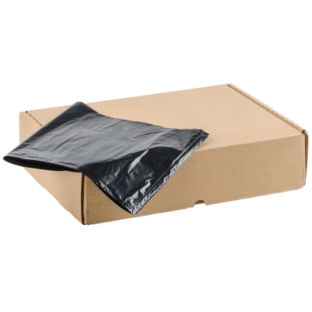 Li'l Herc Repro Trash Bag 45 Gallon 1.5 Mil 40 inch x 46 inch Low Density Can Liner 100 / Case