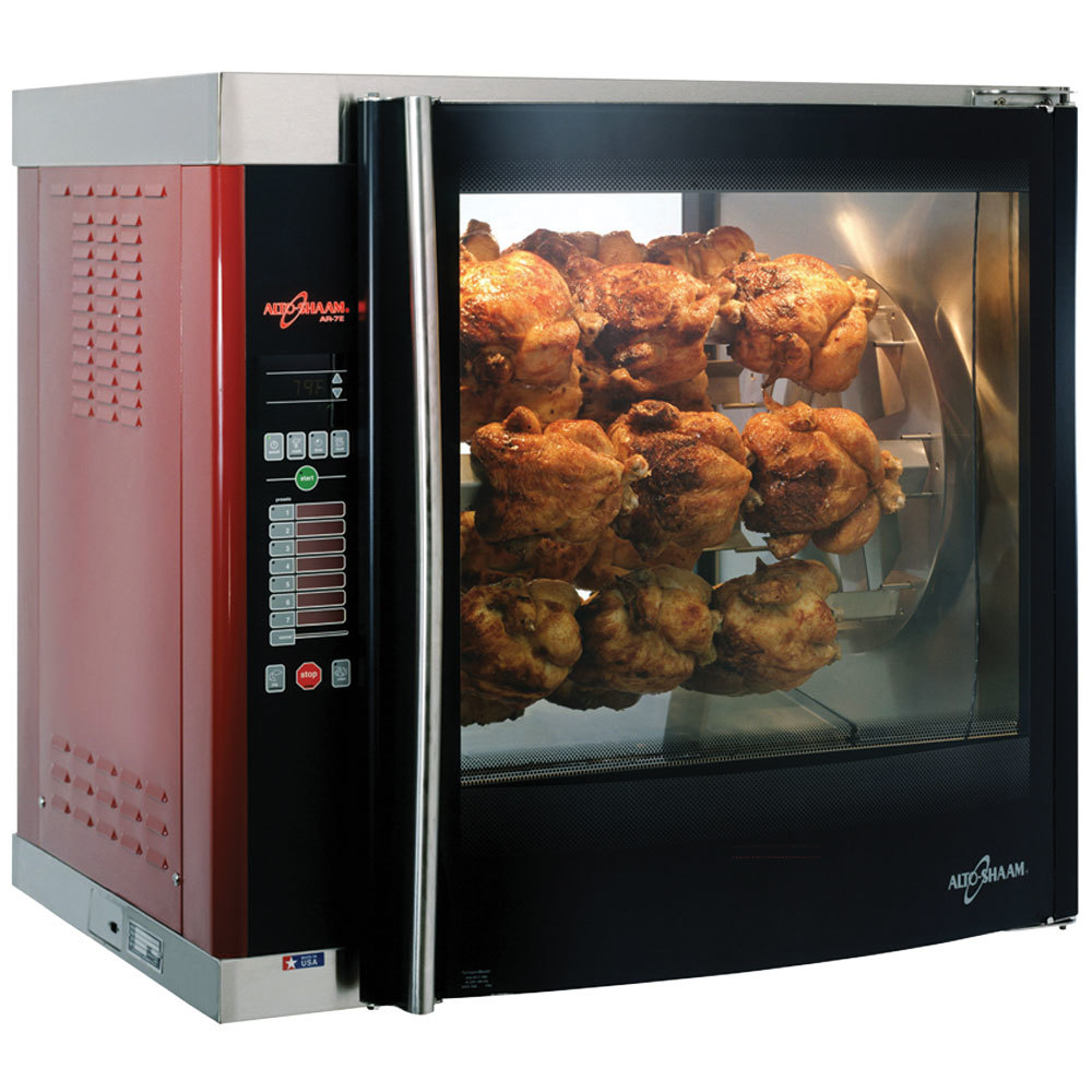 alto shaam ar7e double pane rotisserie oven with 7 spits 208v. Black Bedroom Furniture Sets. Home Design Ideas